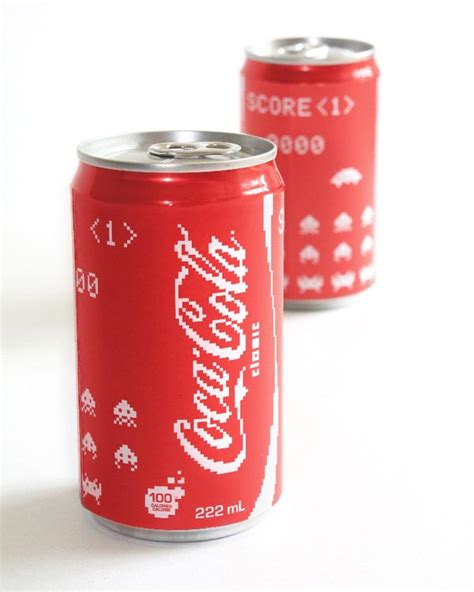 Casing Xiaomi Mi 5 Coca Cola Clasic Custom space invaders inspired coca cola cans gadgetsin