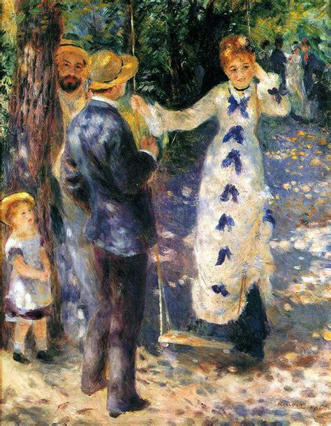 La Balancoire Renoir by Impressionists Artists 5 Facts About 5 Impressionist