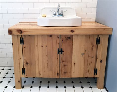 Diy Vintage Bathroom Vanity House Decor Ideas Bathroom Sink Cabinet Plans