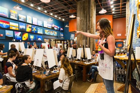 paint nite gainesville fl muse paintbar the best thing to happen to