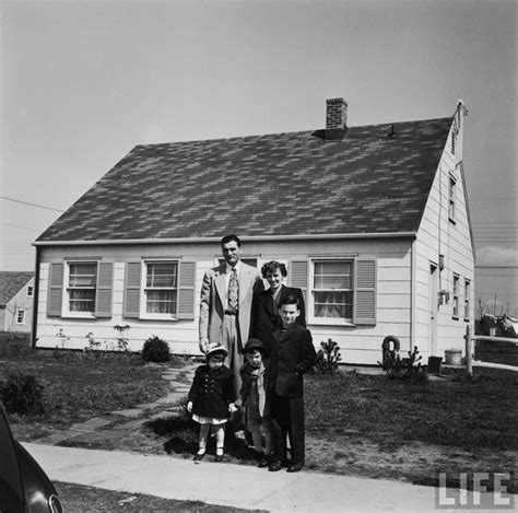 1950s house the racial make up of suburbanization thirdsight history