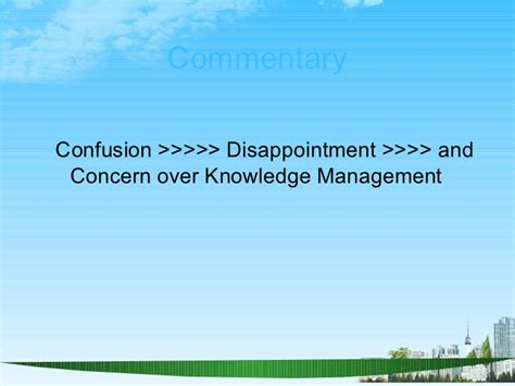 Mba Knowledge Management by Knowledge Management Ppt Bec Doms Bagalkot Mba 4 Th Sem