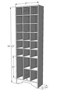 Closet Storage Plans Shoe Storage Diy Plans Woodideas