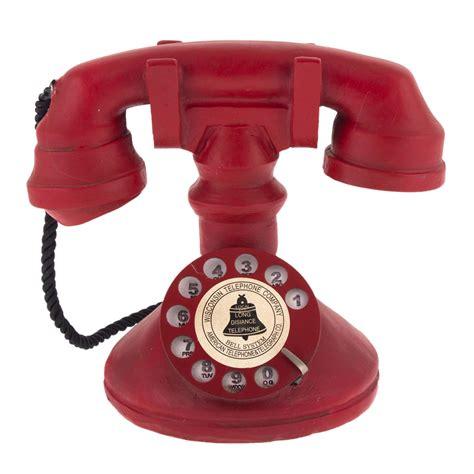 cevirmeli nostaljik telefon xx cm bezelyecom