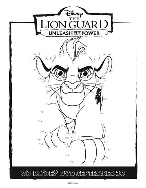 coloring pages for lion guard the lion guard coloring pages unleash the power