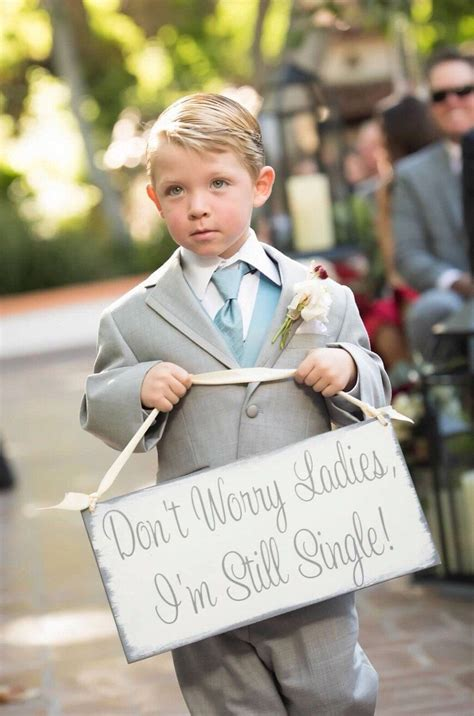 Wedding Banner For Ring Bearer by Don T Worry I M Still Single Here Comes The