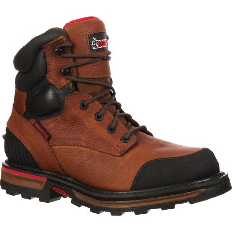 rocky shoes rocky elements dirt waterproof work boot rkyk073