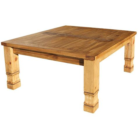 Rustic Pine Coffee Table Rustic Pine Collection Square Julio Coffee Table Cen17