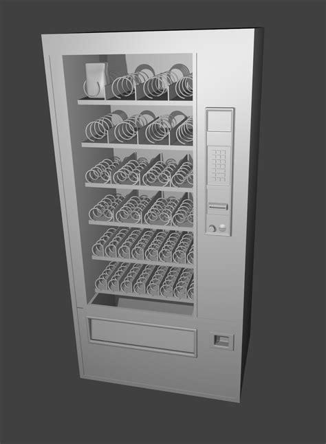 Shane's 3D Blender Models: Soda Fountain Machine
