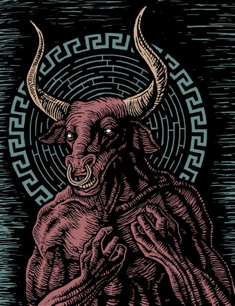 libro the labyrinth mythical beasts minotaur of the labyrinth by firebert101 on