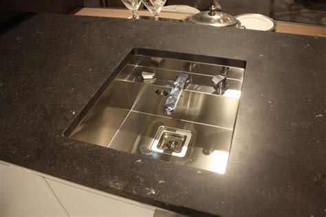 sink styles new kitchen sink styles showcased at eurocucina