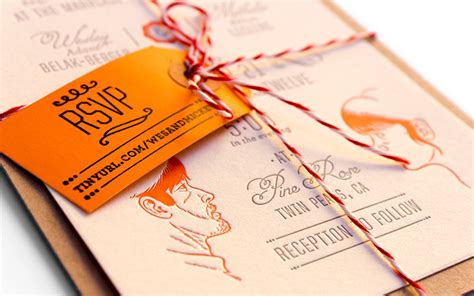 bakers twine wedding invitations fpo wes mickey get hitched wedding invitations