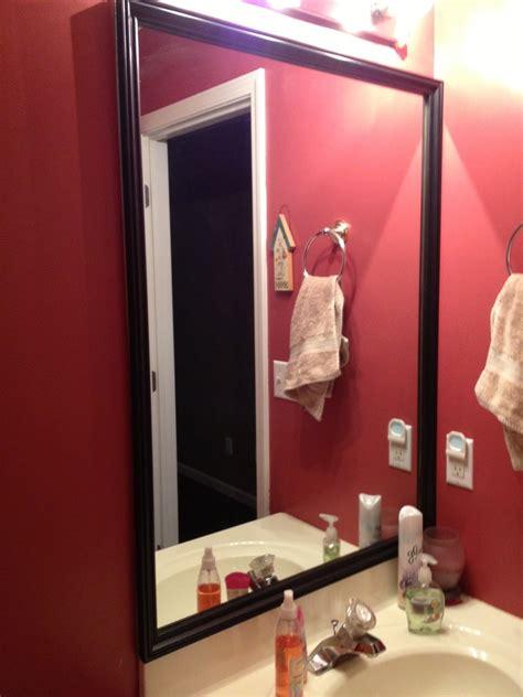 Framed Bathroom Mirrors Diy Diy Framed Bathroom Mirrors Brady Lou Project Guru