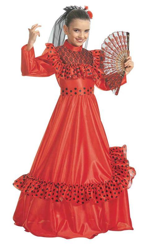 Robe Espagnole Flamenco Fille - robe espagnole fille v59193