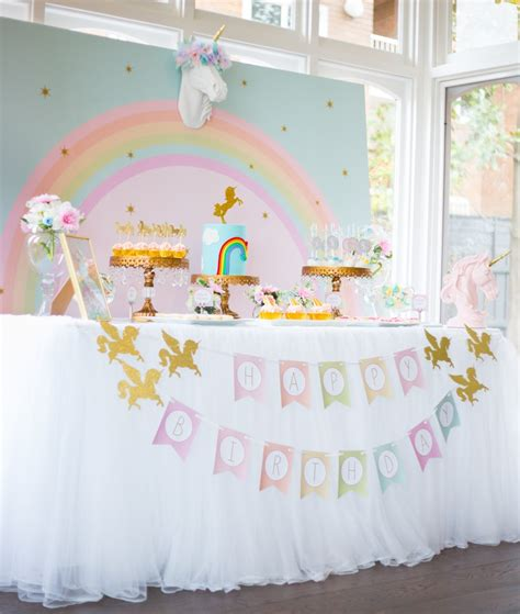 Home S Decor 17 unicorn party ideas lolly jane