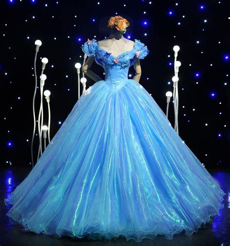 2015 original princess blue dresses
