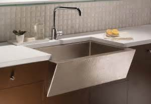 Undermount Farmhouse Kitchen Sink Zuma Undermount Apron Copper Sink