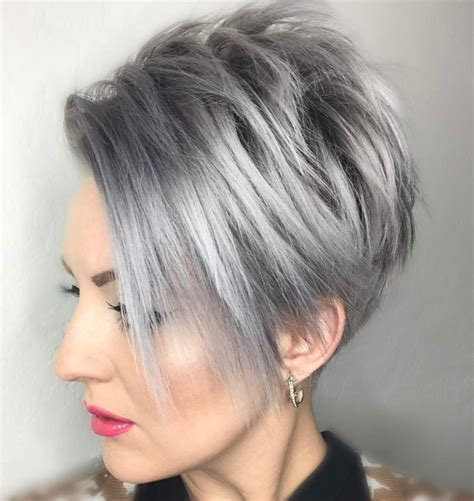women hairstyles short in back long on sides 40 bold and beautiful short spiky haircuts for women
