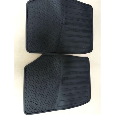 Miami Rubber Upholstery by Land Rover Front Floor Rubber Mats Set Range 95 02 P38
