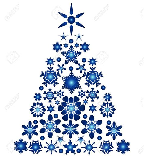 blue christmas service clip art blue and white tree clipart clipartxtras