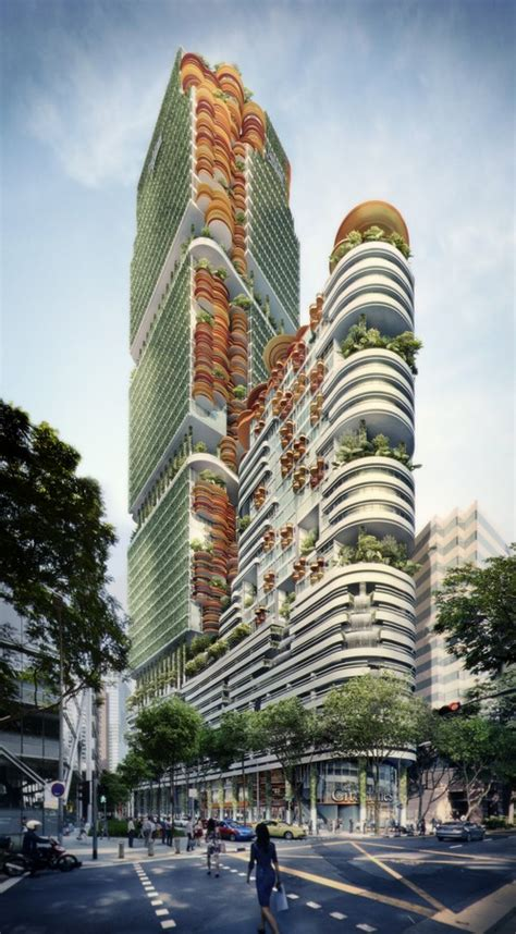 sky forest city tower singapore  architect