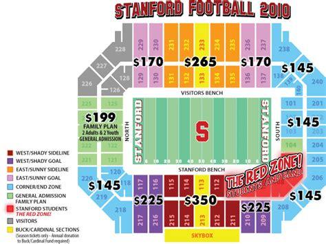 stanford stadium seating stanford stadium seating chart stanford cardinal