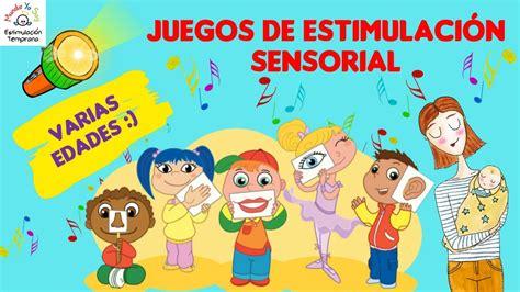 imagenes de juegos sensoriales para niños juegos de estimulaci 243 n sensorial youtube