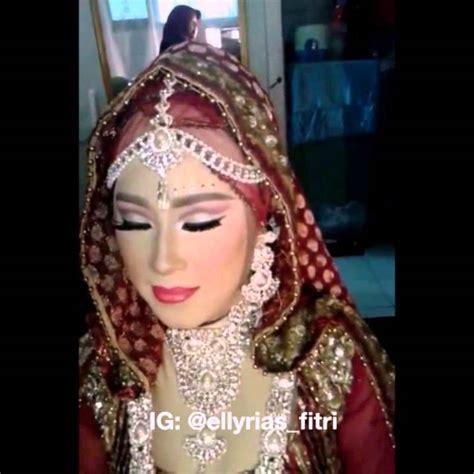 tutorial rias pengantin india pengantin india muslim by sanggar rias fitri youtube