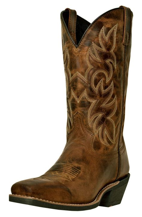 laredo s breakout 12 quot square toe cowboy boots rust
