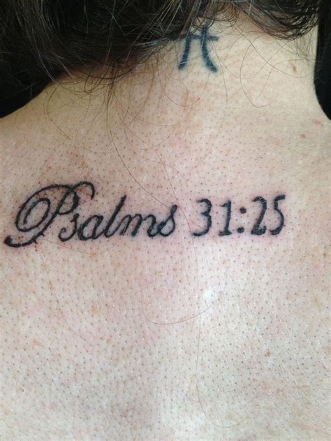 psalm 27 1 tattoo psalms 31 25 cool tattoos
