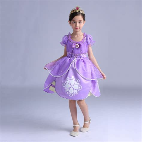 Supplier Maryam Dres By Shofiya aliexpress buy new top quality cotton dress sofia princess purple fluffy dress big