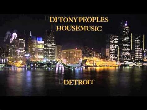 classic chicago house music dj tony peoples housemusic old school detroit doovi