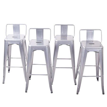 Average Height Of Kitchen Bar Stools by Belleze Bar Height Stools With Backs Kitchen Bar Set Of