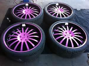 pink and black rims 16 background hdblackwallpaper
