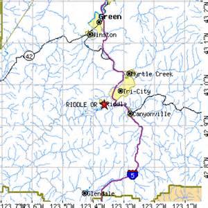 riddle oregon map riddle oregon or population data races housing