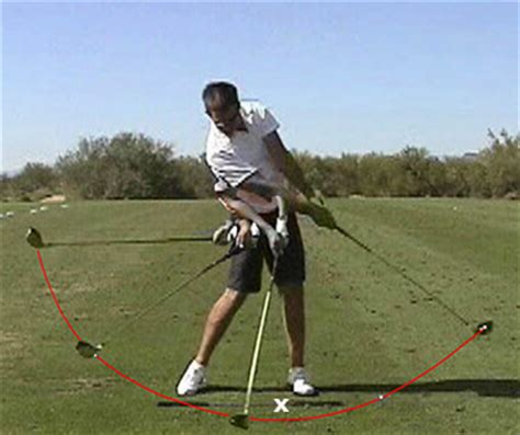 the perfect driver swing downswing