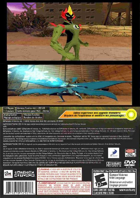 Cd Playstation Buku Ps 2 Ben 10 ben 10 sony playstation 2