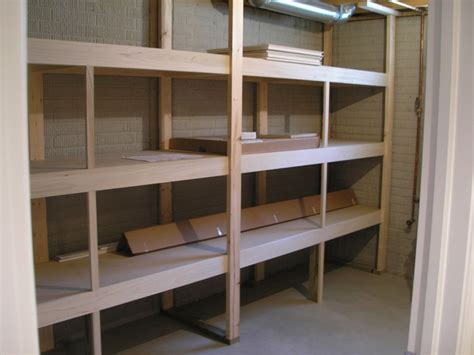 Garage With Apartments Plans by Basement Shelving Ideas Homesfeed