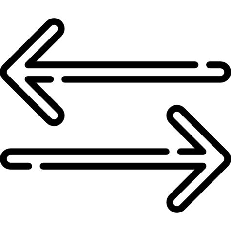 back and forth back and forth free arrows icons