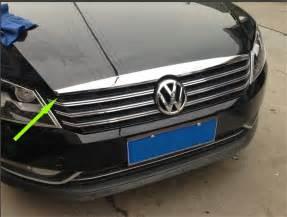 Black Covers On Car Bonnets Car Styling Front Bonnet Molding Cover Trim