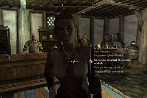 x mod game center skyrim mod makes npc interactions less scripted more sims