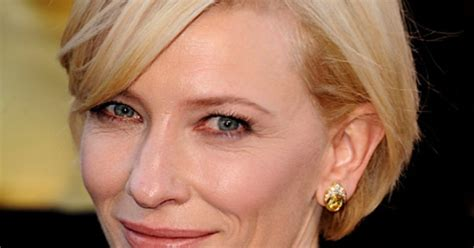 Get The Look Cate Blanchetts Feathered Tresses by Cate Blanchett S And Subtle Smoky Get The
