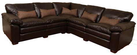 deep leather sectional geneva deep leather sectional