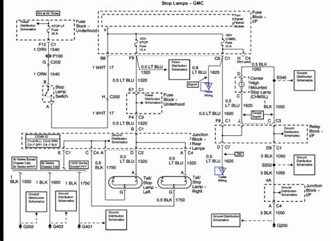 1994 gmc wiring diagram