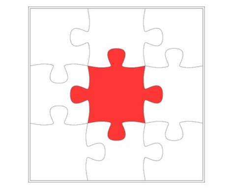 6 jigsaw template jigsaw puzzle template 6 pieces clipart best
