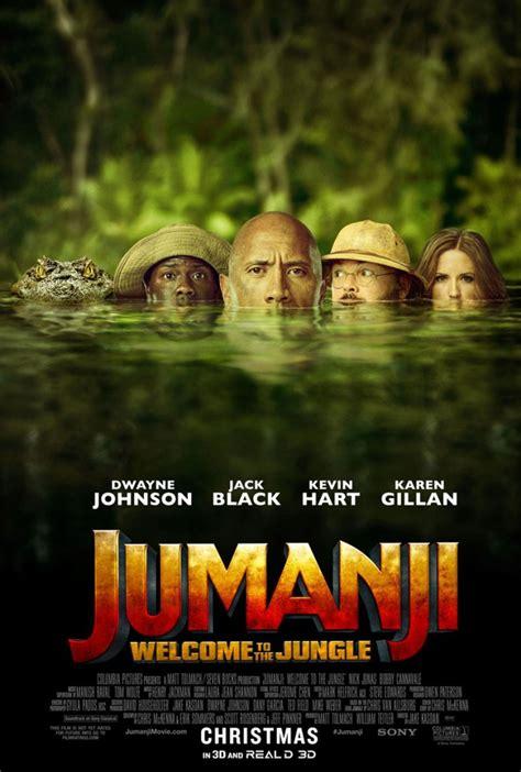 Jumanji Nuovo Film   jumanji benvenuti nella giungla un nuovo poster ufficiale