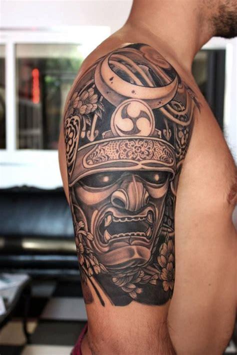 melhores tattoo oriental 25 melhores ideias sobre tatuagem de m 225 scara samurai no
