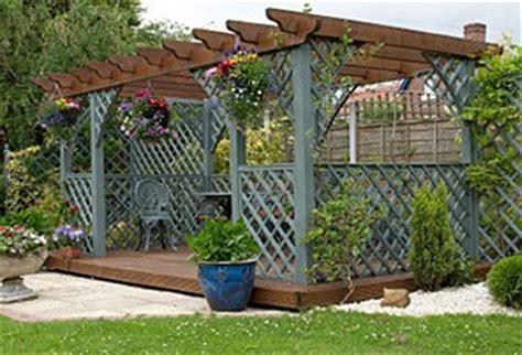 Building An Arbor Trellis by Garden Pergola Plans