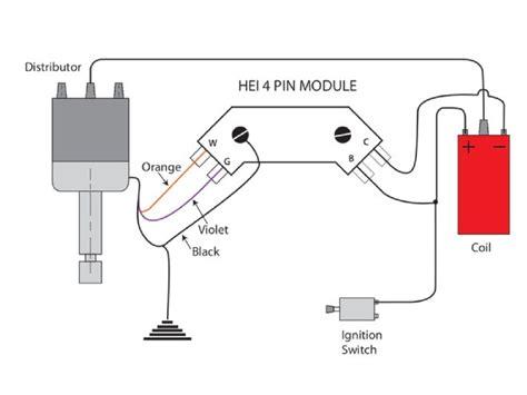 gm hei distributor external coil wiring diagram gm get