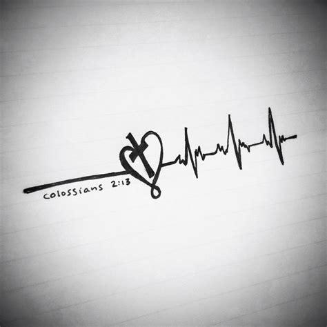 heartbeat stop tattoo heartbeat tattoo ideas and christ on pinterest